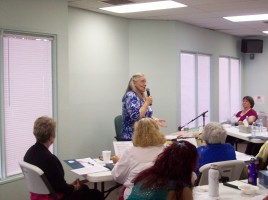 Kathy teaching - Day 1