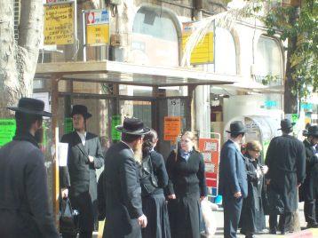 Street scene in Israel