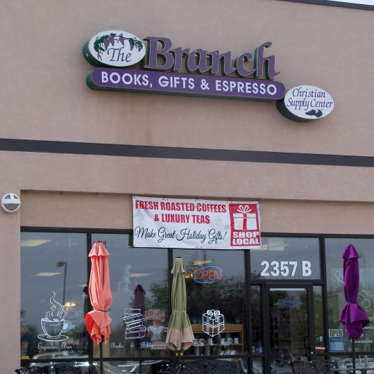 April 2014 - Book signing at The Branch in Los Lunas, NM