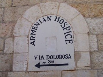 Walking down the Via Dolorosa
