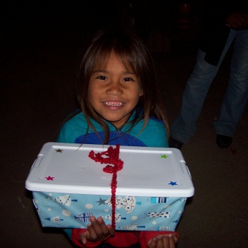Happy little girl!