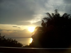 Breathtaking sunset in Manaus, Brazil