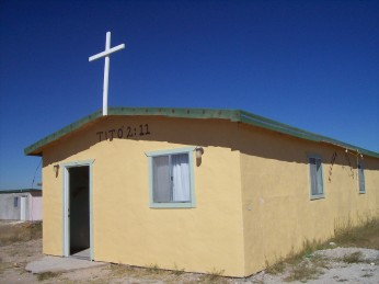 Church in Mexican colonia
