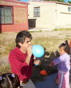 Dave, the balloon man