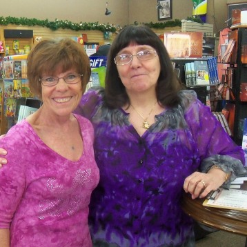 Kathy and Denise