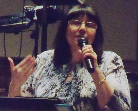 Kathy praying