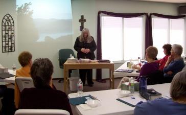 Kathy teaching