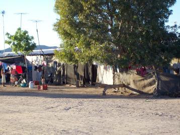 Work camp living quarters