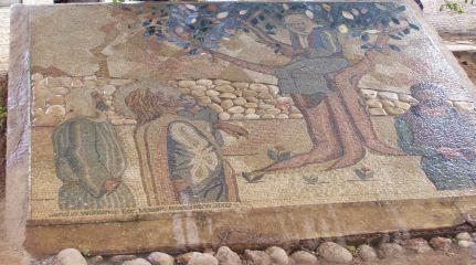 Zacchaeus tree mosaic
