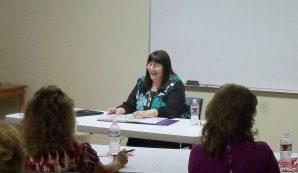 Kathy teaching at HBH Training Seminar - 5/18/15