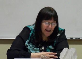 Kathy explaining inner healing basics