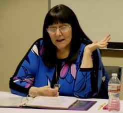 Kathy teaching at HBH Training Seminar - May 19, 2015