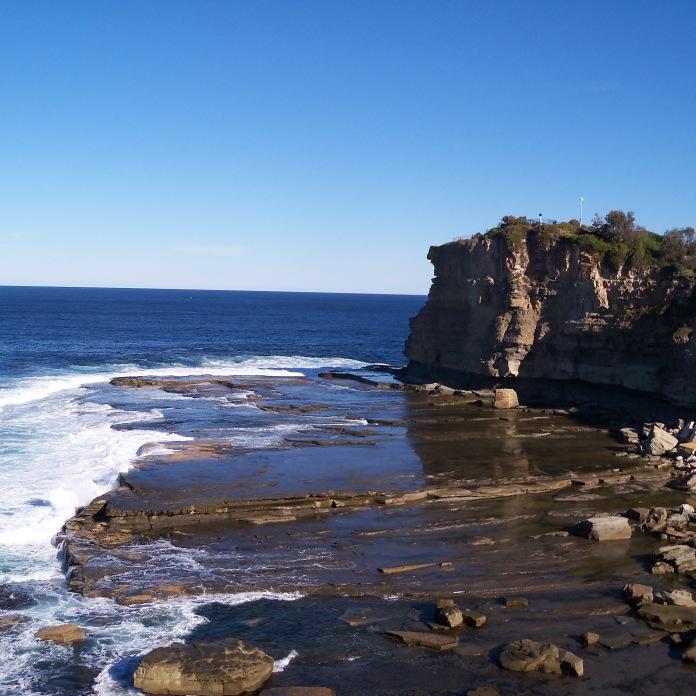 beautiful beach on the Australian east coast