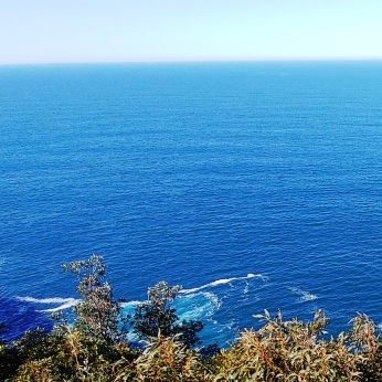 Pacific Ocean at Captain Cook's Lookout 9-4-19